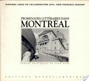 Affiche Promenades Littéraires Montréal