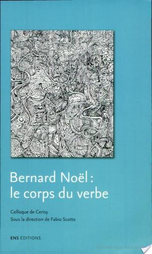 Affiche Bernard Noël