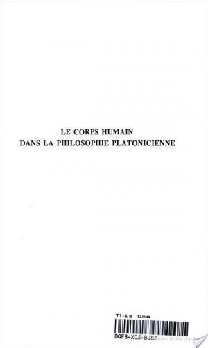 Affiche Le corps humain dans la philosophie platonicienne