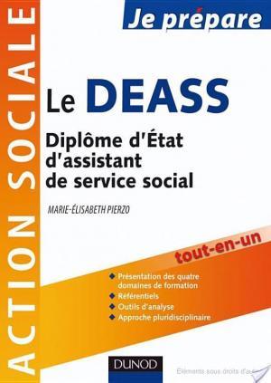 Affiche Je prépare le DEASS - Diplôme d'État d'assistant de service social