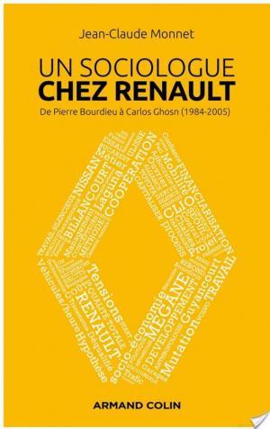 Affiche Un sociologue chez Renault
