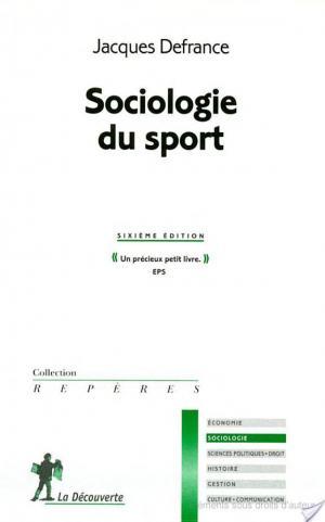 Affiche Sociologie du sport