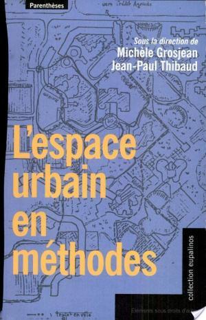 Affiche L'espace urbain en méthodes
