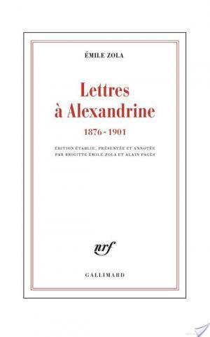 Affiche Lettres à Alexandrine (1876-1901)