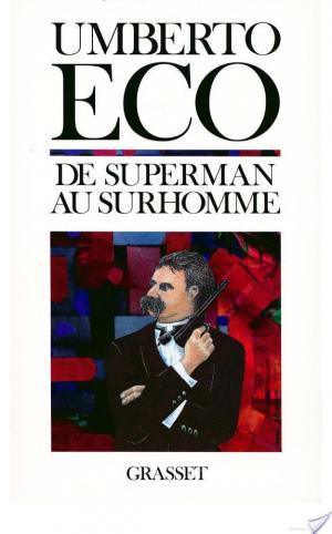 Affiche De superman au surhomme