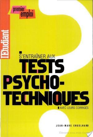 Affiche S'entraîner aux tests psychotechniques