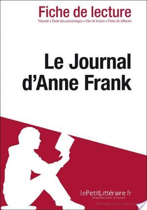 Affiche Le Journal d'Anne Frank d'Anne Frank (Fiche de lecture)