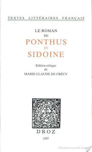 Affiche Le roman de Ponthus et Sidoine