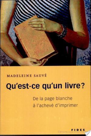 Affiche Qu'est-ce qu'un livre?