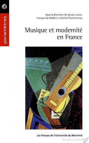 Affiche Musique et modernité en France (1900-1945)