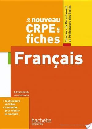 Affiche CRPE en Fiches Français