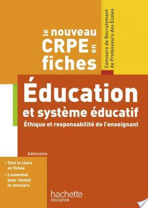 Affiche CRPE en Fiches Système éducatif