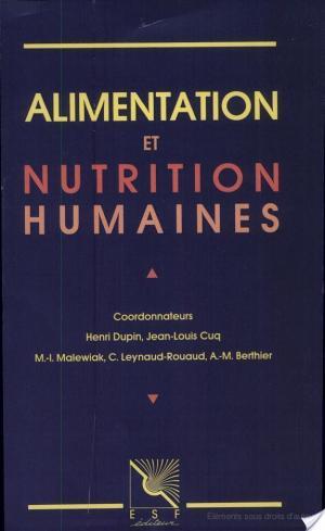 Affiche Alimentation et nutrition humaines