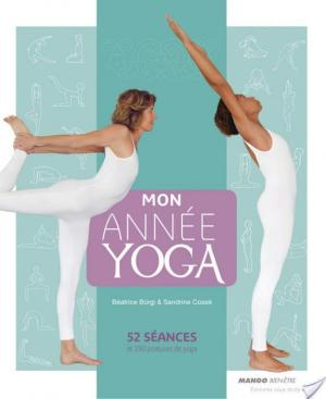 Affiche Mon année yoga