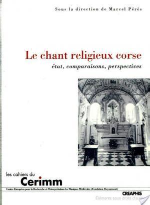 Affiche Le chant religieux corse