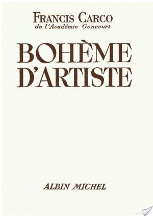 Affiche Bohème d'artiste