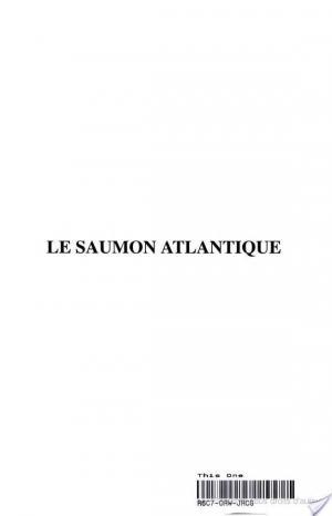 Affiche Le Saumon atlantique