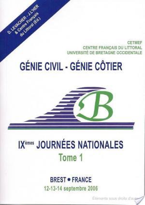 Affiche IXèmes Journées Nationales Génie Cotier - Génie Civil, Brest 2006