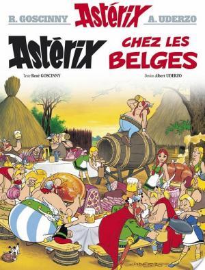 Affiche Astérix - Astérix chez les Belges -