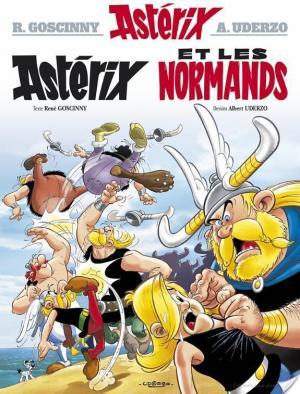Affiche Astérix - Astérix et les Normands -