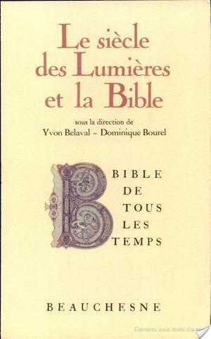 Affiche Le Siècle des Lumières et la Bible