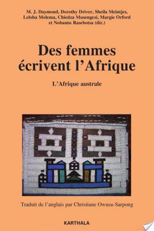 Affiche Des femmes écrivent l'Afrique