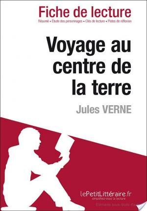 Affiche Voyage au centre de la Terre de Jules Verne (Fiche de lecture)