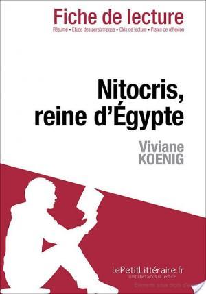Affiche Nitocris, Reine d'Égypte de Viviane Koenig (Fiche de lecture)