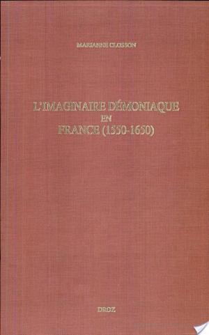 Affiche L'imaginaire démoniaque en France (1550-1650)