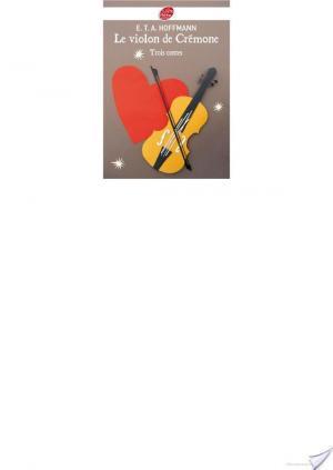 Affiche Le violon de Crémone - 3 contes d'Hoffmann