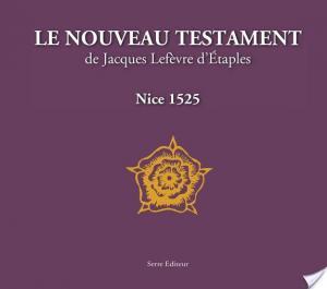 Affiche Le nouveau testament de Jacques Lefèvre d'Étaples