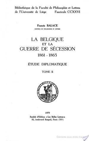 Affiche La Belgique et la guerre de Sécession, 1861-1865