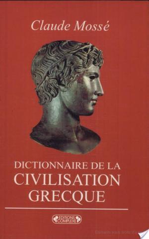 Affiche Dictionnaire de la civilisation grecque