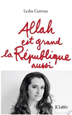 Affiche Allah est grand la République aussi
