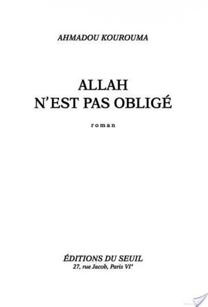 Affiche Allah n'est pas obligé