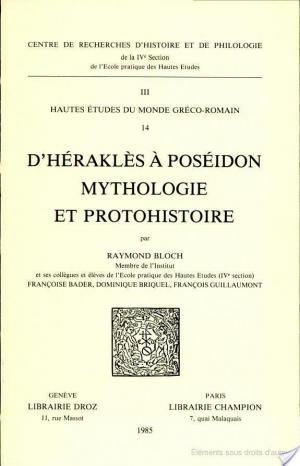 Affiche D'Héraklès à Poséidon