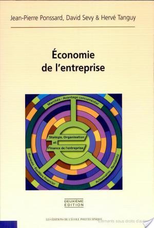 Affiche Economie de l'entreprise