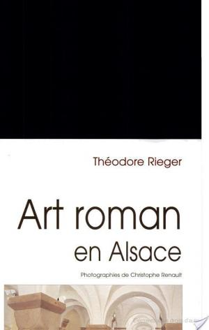 Affiche Art roman en Alsace