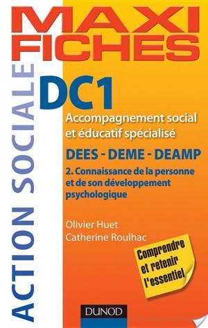 Affiche Maxi fiches DC1 - Connaissance de la personne - 2e ed - DEES-DEME-DEAMP