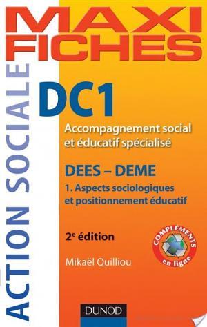Affiche Maxi Fiches DC1 Accompagnement social et éducatif spécialisé, DEES - DEME - 2e éd.