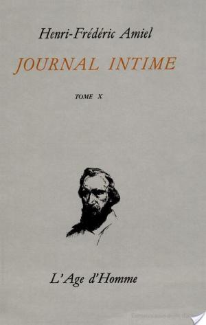 Affiche Journal intime: Juin 1874-mars 1877