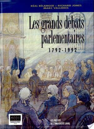 Affiche Les grands débats parlementaires, 1792-1992