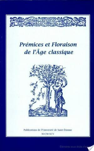 Affiche Prémices et floraison de l'âge classique