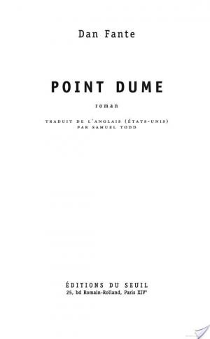 Affiche Point Dume