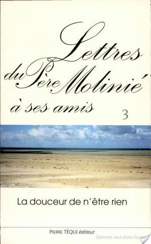 Affiche Lettres du père Molinié à ses amis
