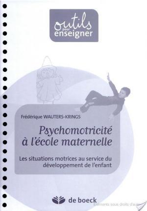 Affiche Psychomotricité à l'école maternelle