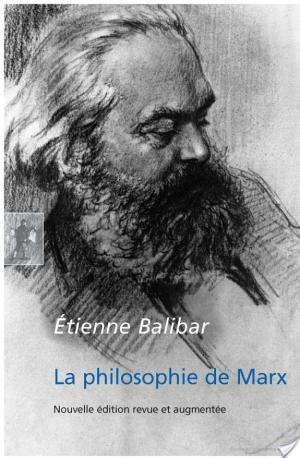 Affiche La philosophie de Marx