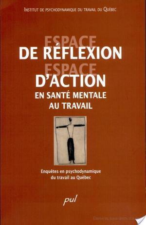 Affiche Espace de réflexion, espace d'action en santé mentale au travail