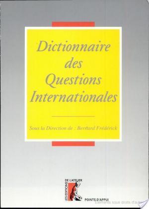Affiche Dictionnaire des questions internationales