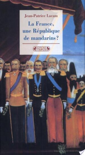 Affiche La France, une République de mandarins?